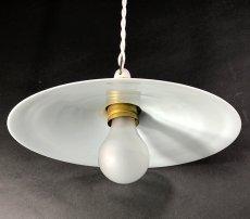 """画像3: German-Deco """"Milk Glass"""" Pendant Lamp (3)"""