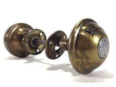 """画像7: 1900's """"COMBINATION"""" Door Knob & BELL (7)"""