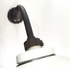 """画像6: """"長〜い"""" 1910-20's German Deco Swan Neck Outside Light 【E26電球仕様】 (6)"""