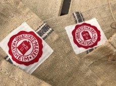 画像10: Early-1930's  German Linen Grain Sack 【特大!!- 2枚セット】 (10)