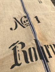 画像6: Early-1930's  German Linen Grain Sack 【特大!!- 2枚セット】 (6)