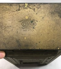 "画像5: 1920-30's ""CORBIN LOCK CO."" Brass Wall Mount Mail Box (5)"