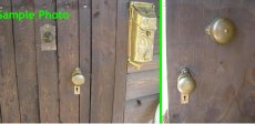 画像10: 1890's【Cast Iron&Brass】Doorbell (10)