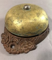 画像9: 1890's【Cast Iron&Brass】Doorbell (9)