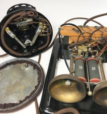 "画像20: - 実働品 -  ""Fully Restored"" 1920's 【Western Electric】Telephone with Ringer Box (20)"