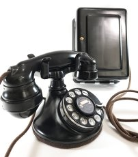 "画像5: - 実働品 -  ""Fully Restored"" 1920's 【Western Electric】Telephone with Ringer Box (5)"
