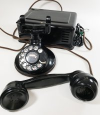 "画像14: - 実働品 -  ""Fully Restored"" 1920's 【Western Electric】Telephone with Ringer Box (14)"