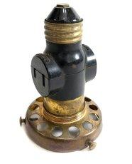 """画像2: 【Edison】 Standard Base Socket extender w 2 1/4"""" fitter & outlets (2)"""