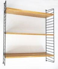 """画像2: """"Nisse String"""" Wood&Steel Wire ShelfString (2)"""