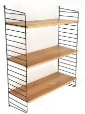 """画像1: """"Nisse String"""" Wood&Steel Wire ShelfString (1)"""