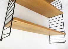"""画像3: """"Nisse String"""" Wood&Steel Wire ShelfString (3)"""