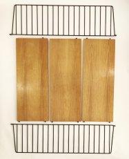 """画像5: """"Nisse String"""" Wood&Steel Wire ShelfString (5)"""