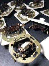 """画像5: -*残りラスト1個*- 1950-70's """"SQUARE"""" Bakelite Switch 【デッドストック - 14個バラ売り】 (5)"""