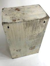 """画像7: 1940-50's French """"Shabby"""" Steel Bathroom Medicine Cabinet (7)"""