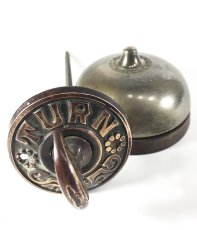 画像1: 1890's【Cast Iron&Brass】Loud Doorbell (1)
