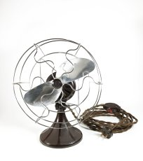 "画像2: 1930's【BARCOL】""MINI"" Electric Fan (2)"