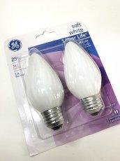 画像3: ★新品色★ White Candle Light Bulb【5パック = 10個】 (3)