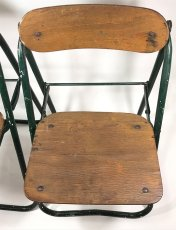 画像16: 1940-50's ☆BIENAISE☆ Folding Chair 【2脚セット】 (16)