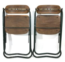 画像3: 1940-50's ☆BIENAISE☆ Folding Chair 【2脚セット】 (3)