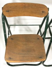 画像13: 1940-50's ☆BIENAISE☆ Folding Chair 【2脚セット】 (13)