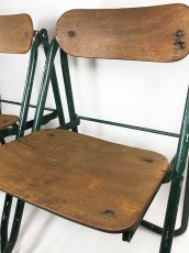画像17: 1940-50's ☆BIENAISE☆ Folding Chair 【2脚セット】 (17)
