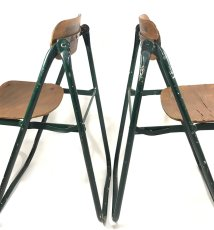 画像20: 1940-50's ☆BIENAISE☆ Folding Chair 【2脚セット】 (20)