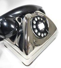 画像8: - 実働品 -  1940's U.S.ARMY Chromed Telephone 【★ROYAL CHROME★】 【★バックプレート付き★】 (8)