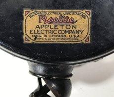 """画像3: 1910-30's """"Reelite"""" Cord Reel (3)"""