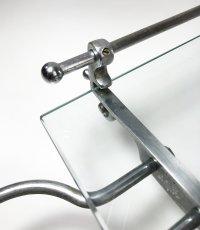 画像12: 1930's【Art Deco】 German Bathroom Glass Shelf w/ Cup holder (12)