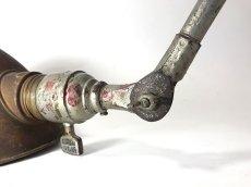"""画像6: 1930's【O.C.White】 """"Double Arm""""  Wall-Mounted Task Light (6)"""