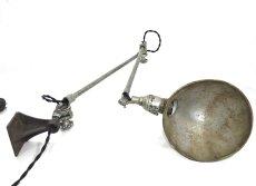 """画像17: 1930's【O.C.White】 """"Double Arm""""  Wall-Mounted Task Light (17)"""