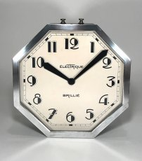 "画像5: 1930's French ""Art Déco"" Octagon Wall Clock 【超・Mint Condition】 (5)"