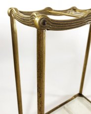 "画像3: 1910-20's German Art Deco ""SOLID BRASS"" Umbrella Stand (3)"