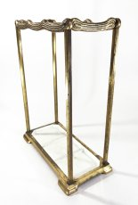 "画像14: 1910-20's German Art Deco ""SOLID BRASS"" Umbrella Stand (14)"