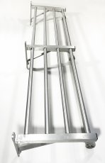 "画像3: 特大  1960-70's ""Brushed-Aluminum"" Clothes Rack 【幅:1230mm】 (3)"