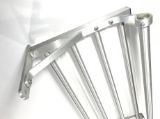 "画像9: 特大  1960-70's ""Brushed-Aluminum"" Clothes Rack 【幅:1230mm】 (9)"