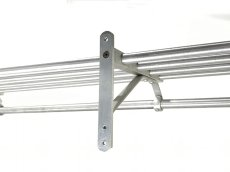 "画像13: 特大  1960-70's ""Brushed-Aluminum"" Clothes Rack 【幅:1230mm】 (13)"