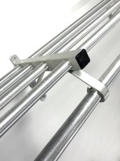 "画像7: 特大  1960-70's ""Brushed-Aluminum"" Clothes Rack 【幅:1230mm】 (7)"
