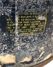 """画像13: 1940's """"Hard-Board × Steel"""" Shipping Barrel 【ドラム缶級のちょ〜特大です。】 (13)"""