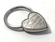 画像5:  1940's  ♡Heart Shaped♡ Advertising Key Ring  (5)