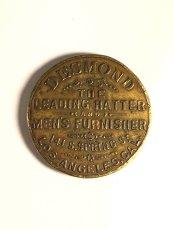 画像1: 【処分品】  Around 1900's Brass Pocket Mirror (1)