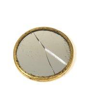 画像2: 【処分品】  Around 1900's Brass Pocket Mirror (2)