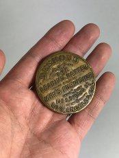 画像3: 【処分品】  Around 1900's Brass Pocket Mirror (3)