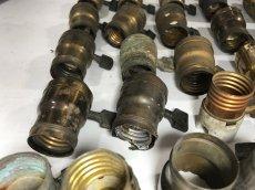画像8: Lot of Antique Light Bulb Sockets  (8)