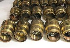 画像7: Lot 37 Antique Light Bulb Sockets  (7)