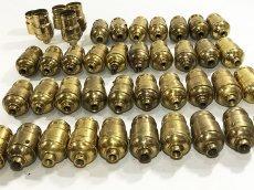 画像10: Lot 37 Antique Light Bulb Sockets  (10)