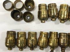 画像8: Lot 37 Antique Light Bulb Sockets  (8)