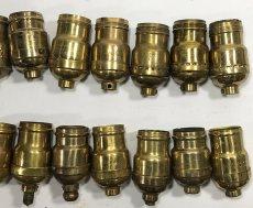 画像6: Lot 37 Antique Light Bulb Sockets  (6)