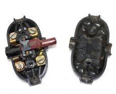 """画像3: 1930-40's """"GERMANY"""" Black Bakelite Switch  (3)"""