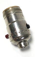 画像3: 1930-50's【LEVITON】Nickeled Brass Lamp Socket  (3)